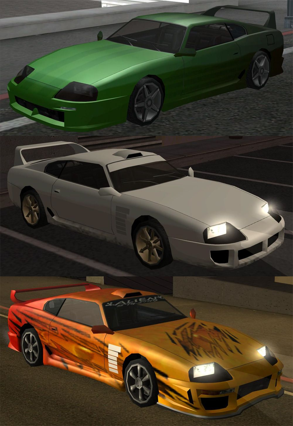 Modifications For The Jester From Gta Sanandreas Gta Cars Cool Sports Cars Car