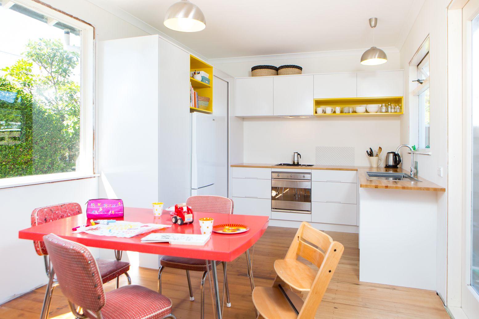 Kitchen 564 by Sally Steer Design, Wellington New Zealand. Semigloss ...