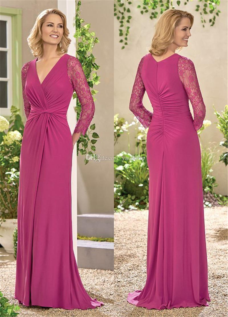 Bonito Vestido De La Madre De La Novia Siri Ornamento - Colección de ...