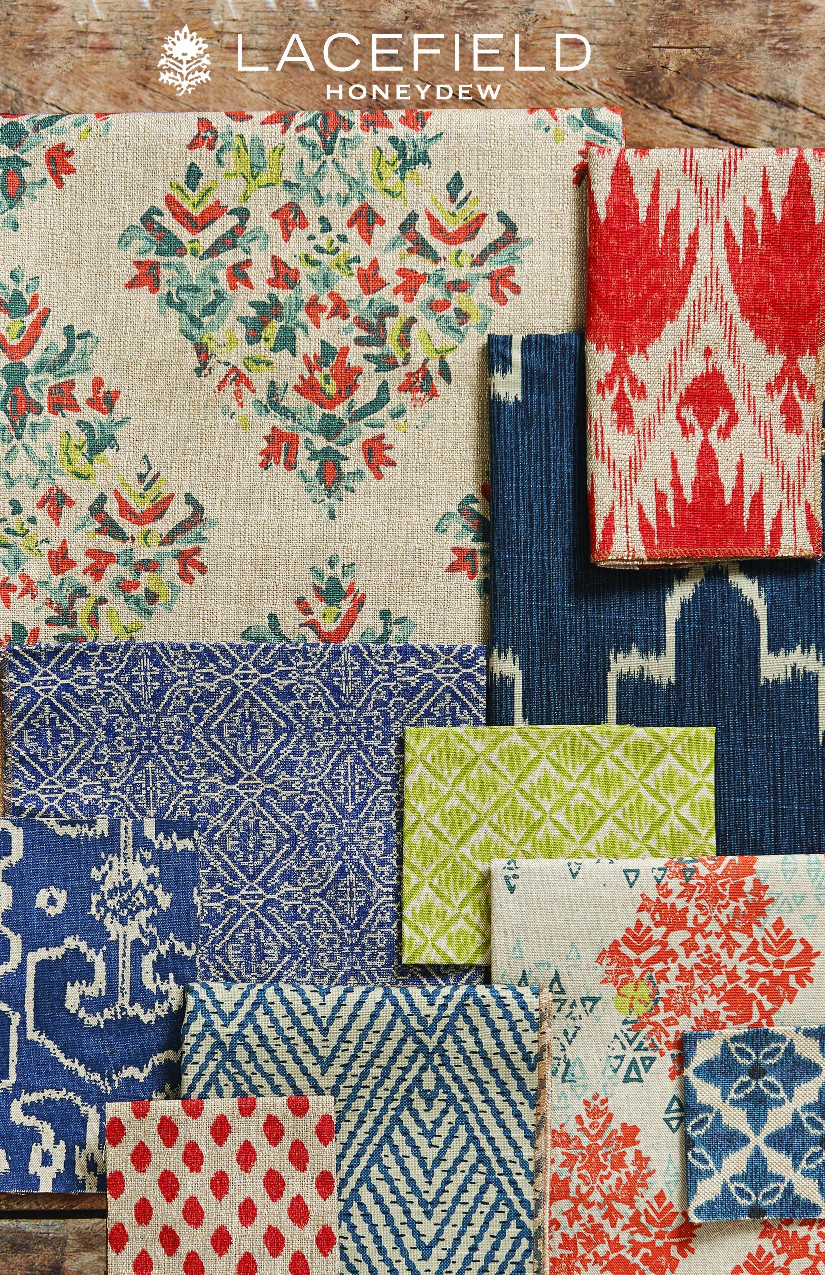 Lacefield Honeydew 2015 Textile Collection Dosemelik Kumaslar Desenler Renkler