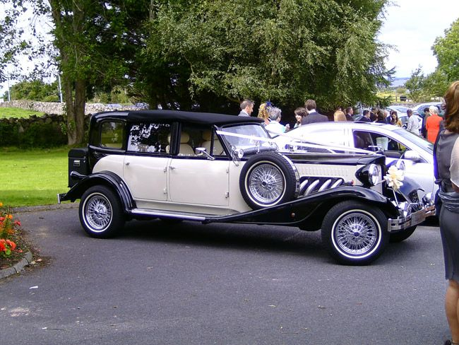 Weddings In Galway Roscommon Leitrim And Athlone Roscommon Chauffeur Car