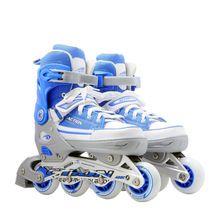 AZIONE di marca Roller Skate PW-126B-13 Blu Scarpe Da Skate Roller Sport All'aria Aperta Lampeggiante Roller Prezzo Competitivo con Buona Qualità