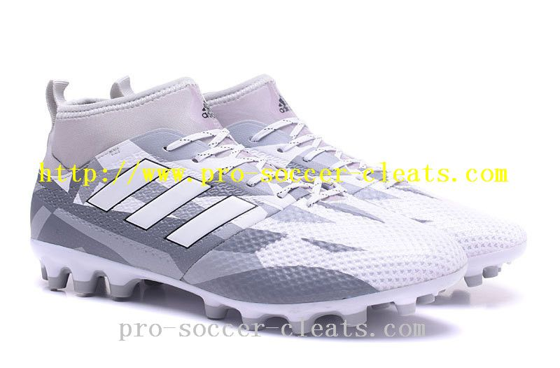 447b89dc6268 Best Site For Adidas ACE 17.3 Primemesh AG Soccer Cleats - Clear Grey White