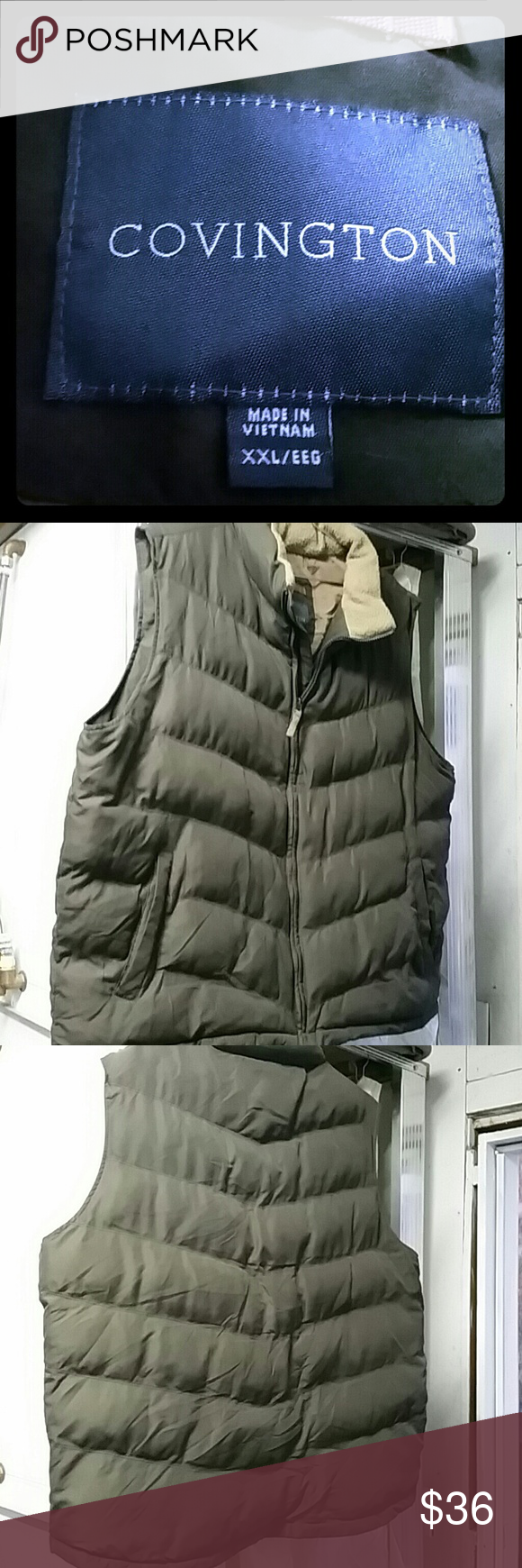 Used Men S Soft Vet Used Good Condition Covington Jackets Coats Vests Today S Man Soft Vets [ 1740 x 580 Pixel ]