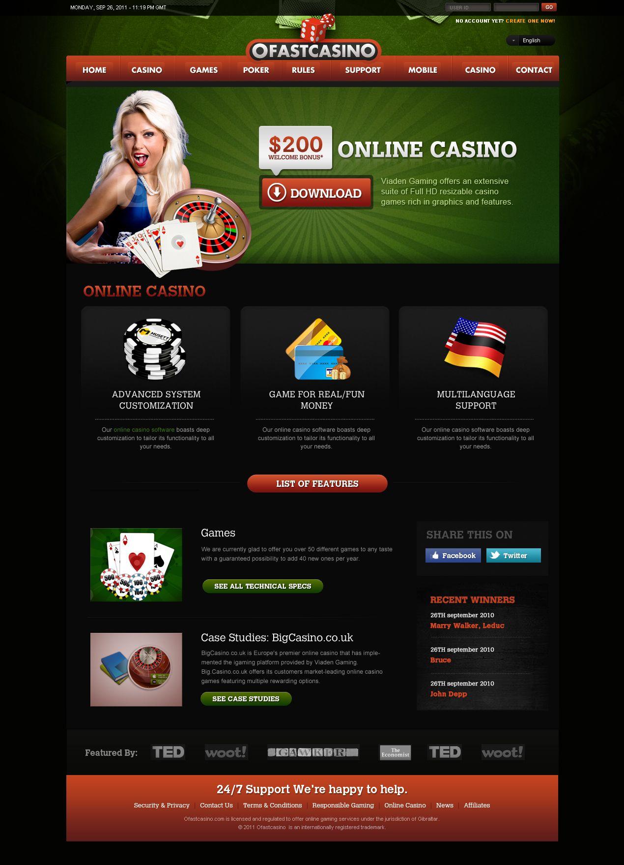 Online Casino Directory Website