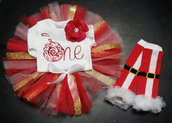 Hey, I found this really awesome Etsy listing at https://www.etsy.com/listing/486000045/christmas-1st-birthday-girl-outfit