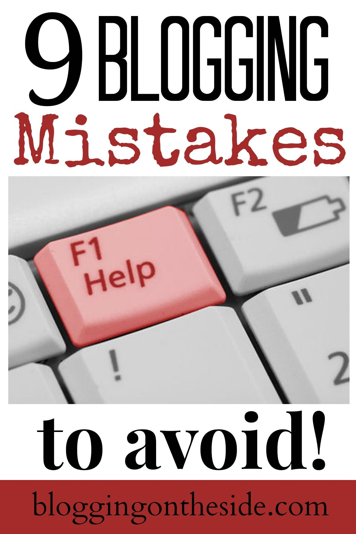 9 Blogging Mistakes To Avoid Blogging Mistakes Payday Loans Loans For Bad Credit