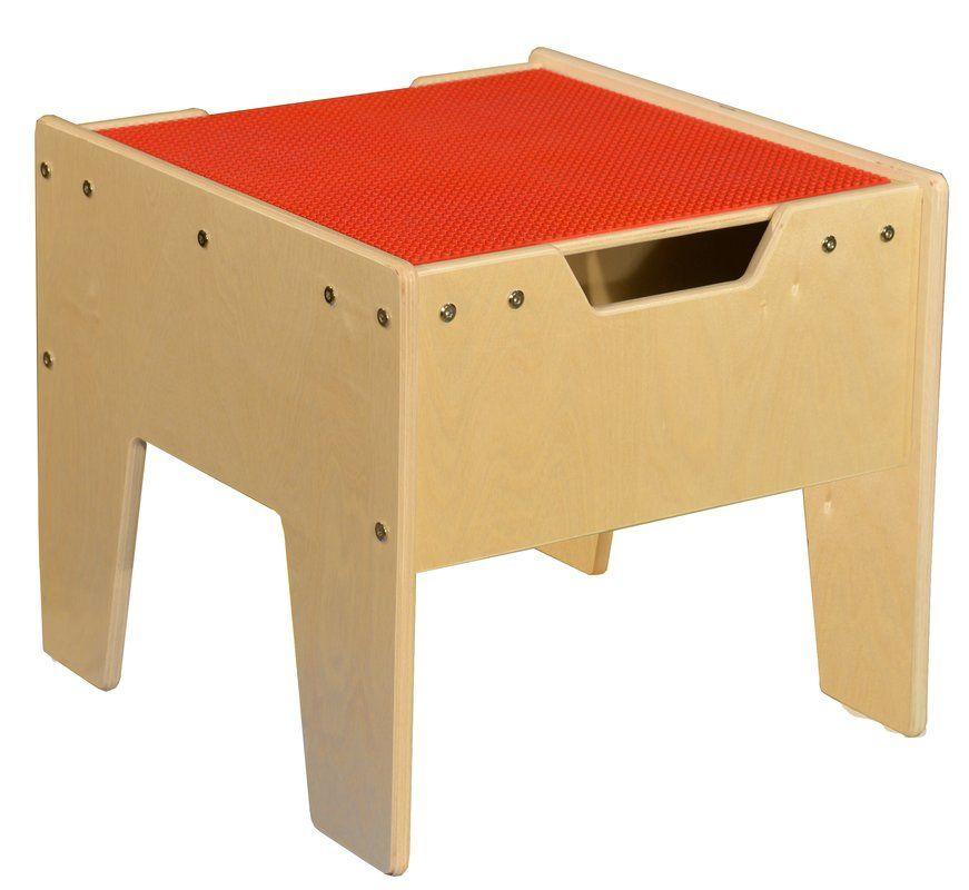 Kids Rectangle Lego Table  sc 1 st  Pinterest & Contender Kids Activity Table   Home   Kids table chair set Lego ...