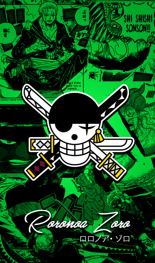 One Piece Wallpapers Mobile New World Zoro By Fadil089665 On Deviantart One Piece Wallpaper Iphone One Piece Anime One Piece Logo