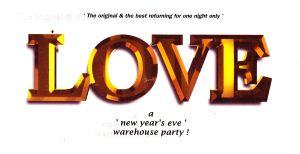 Love : Friday, 31 December 1993