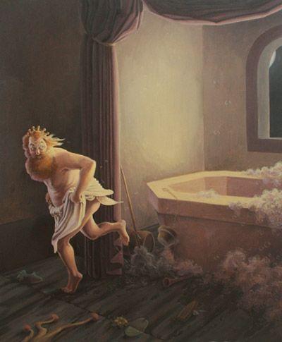 King Bidgoods In The Bathtub Original