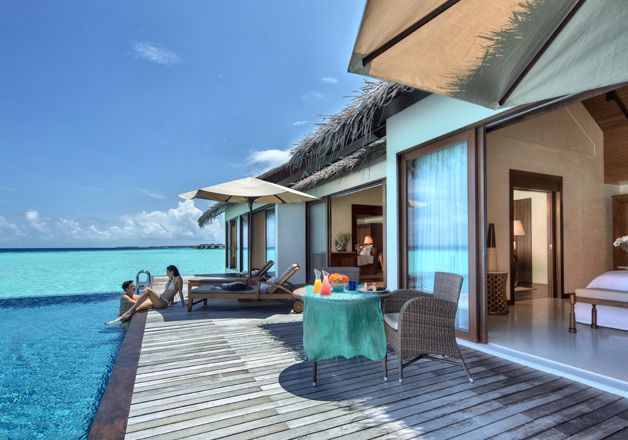 Good Maldives Accommodation | Water Pool Villa | The Residence Maldives