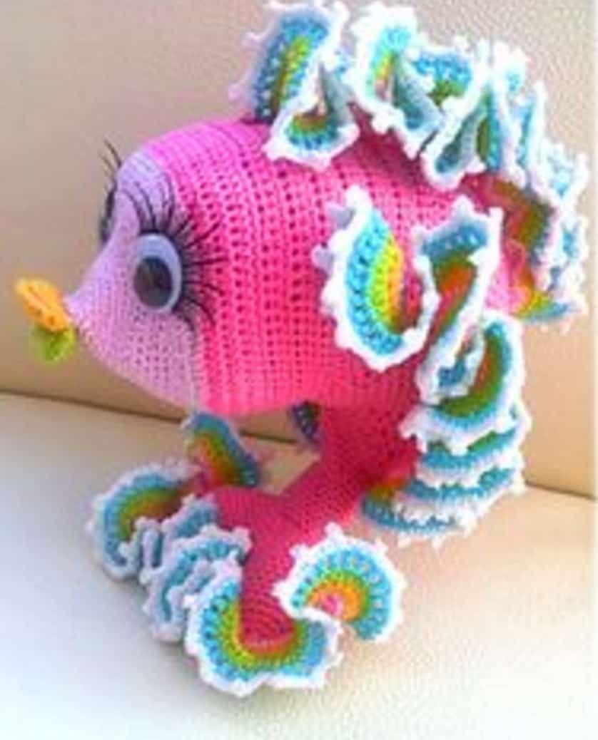 Crochet Goldfish Patterns Free Watch The Video Tutorial | Patrones ...