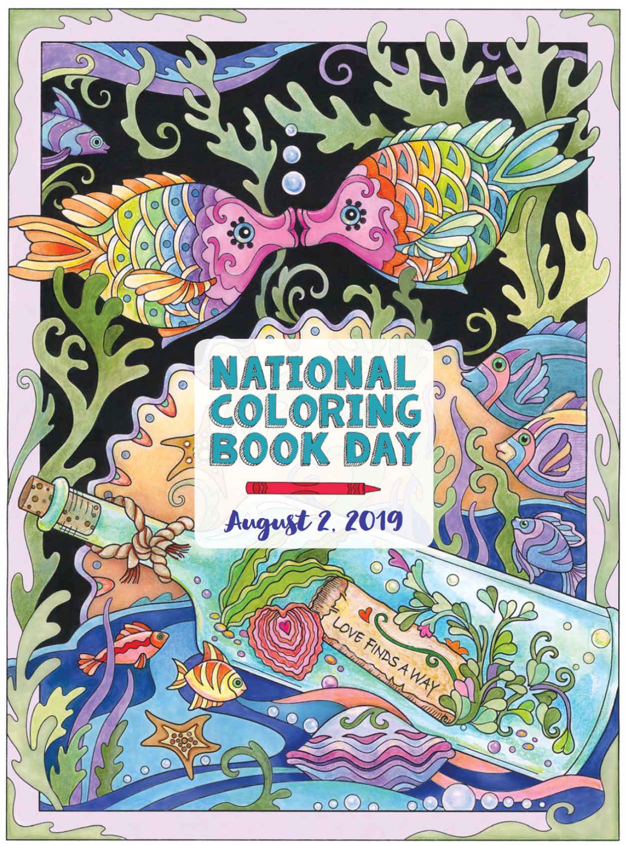 Today Is National Coloring Book Day Stop By The Library Anytime Between 9 5 Today To Spend Some Time Relaxing A Coloring Books Books Coloring Sheets For Kids