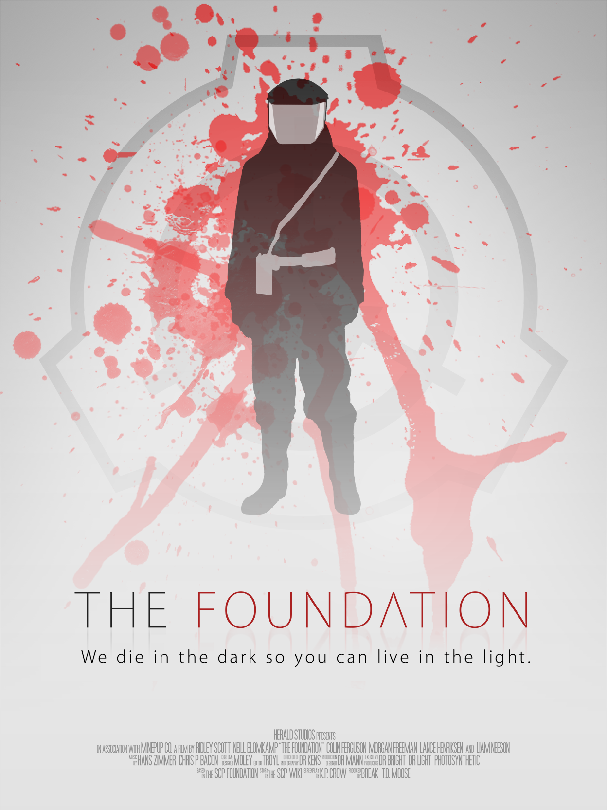 Scp Movie Poster 2 I So Wish They Actually Made This Either Into A Movie Or A Tv Series Scp Scp Movie Foundation