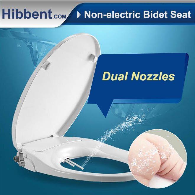 Pleasant Hibbent Non Electric Toilet Bidet Seat Washlet Bidet Seat Ibusinesslaw Wood Chair Design Ideas Ibusinesslaworg