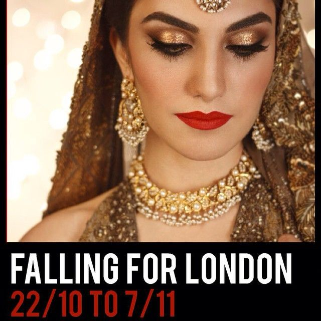Bridal Makeup By Bina Khan London Dates Hair Classes Lessons Brides Appointments In Town