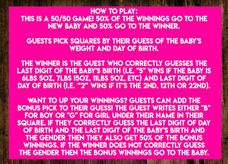 INSTANT DOWNLOAD Its A Boy Baby Betting Squares: Elephant Co-Ed Baby Shower Game Printable - Print-at-Home PDF Printable#baby #betting #boy #coed #download #elephant #game #instant #pdf #printable #printathome #shower #squares