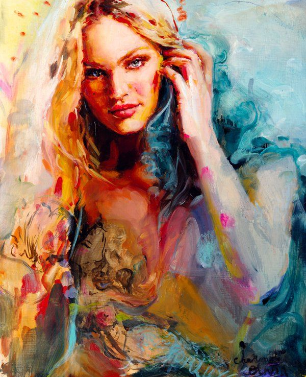 Paintings by Charmaine Olivia | Paintings and Awesome art  Paintings by Ch...