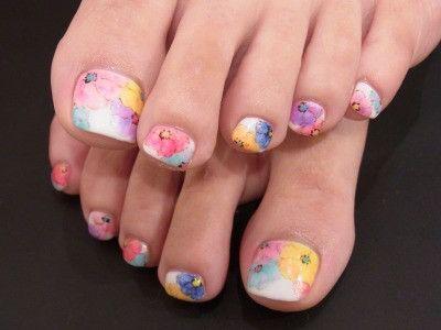 カラフルペディ の画像|Nails Heart(ネイルズ・ハート) スタッフの毎日日記