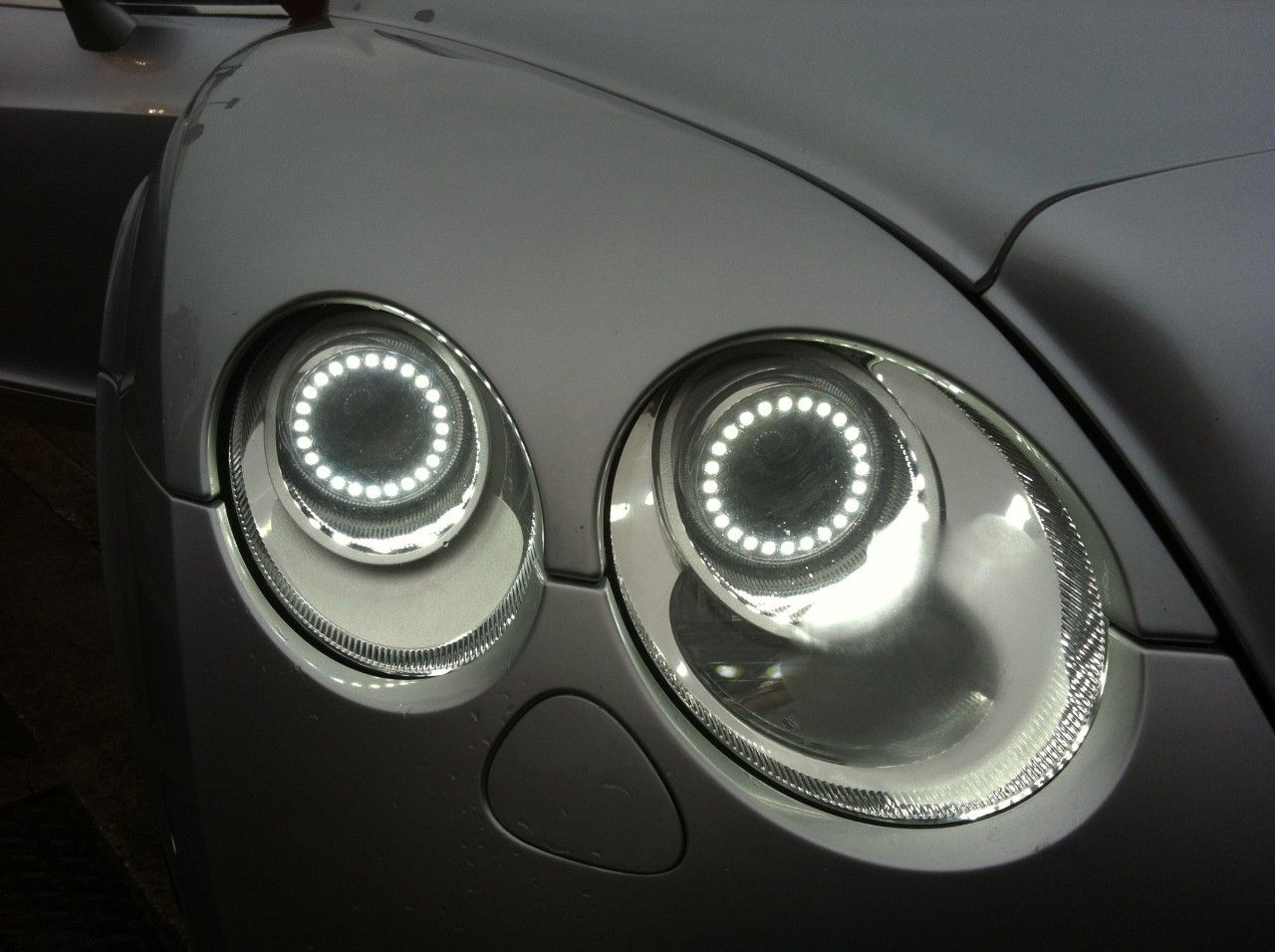 Bentley Continental Gt Headlight Conversion To 2013 Led