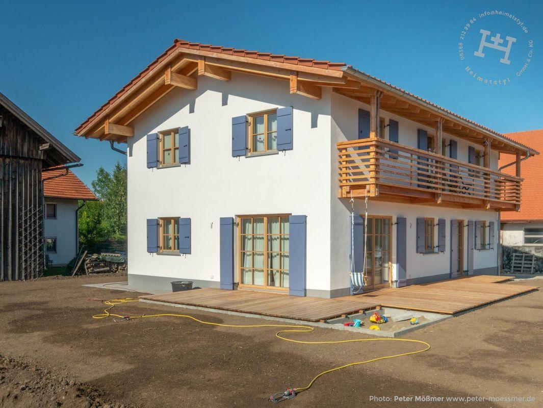Heimatstyl STYL Heimatstyl Massivholzhaus Haus