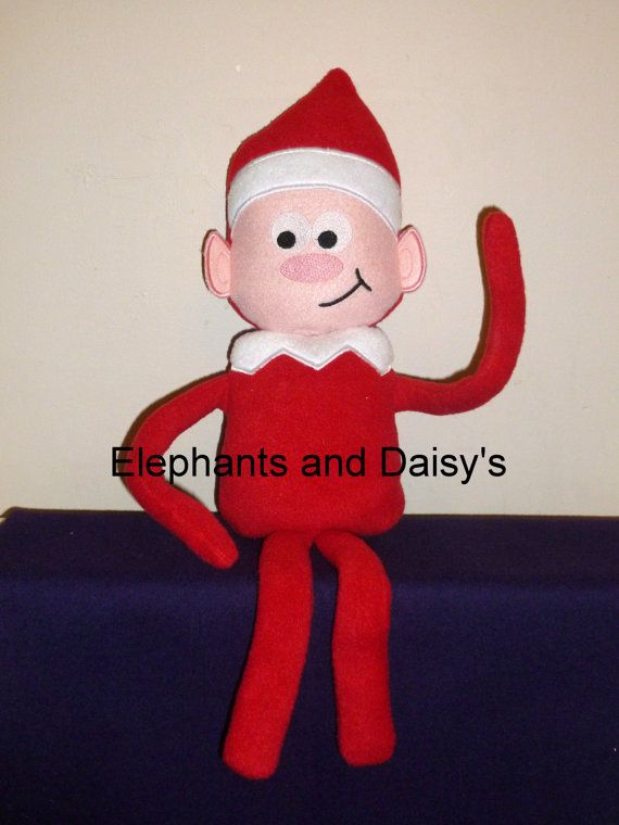 Christmas Elf Stuffie Embroidery design file