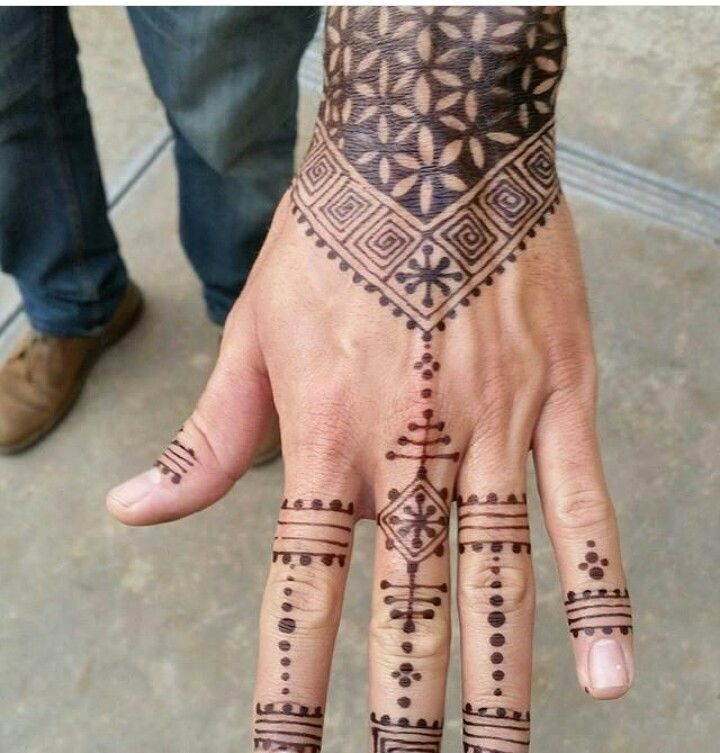 Jagua tattoo for men jagua tattoo henna henna hand tattoo
