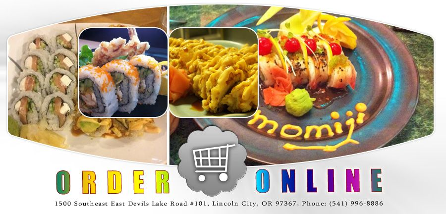 Momiji Express Lincoln City Or 97367 Menu Chinese Japanese Sushi Online Food Delivery Cater Chinese Food Delivery Order Chinese Food Lincoln City