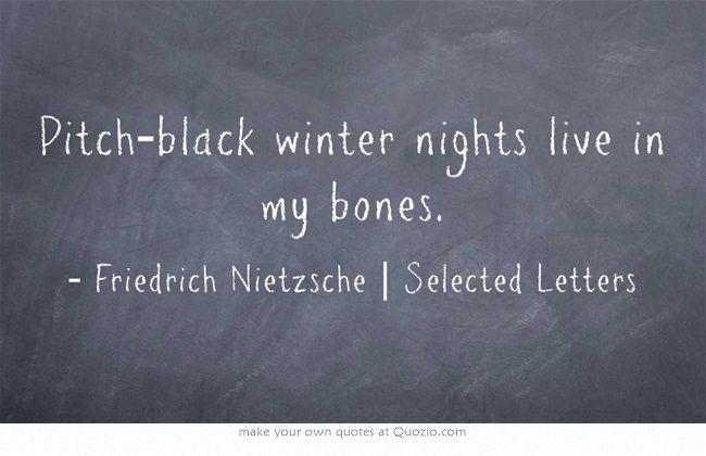 Friedrich Nietzsche | Selected Letters