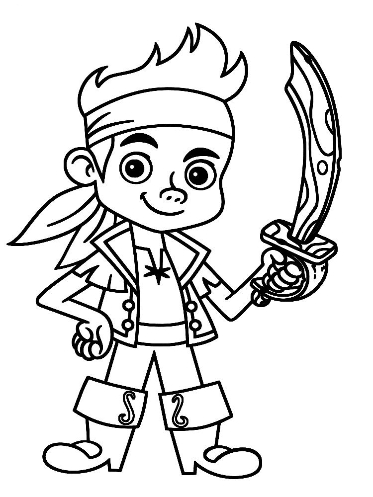 Jake Y Los Piratas De Nunca Jamas Dibujos Animados