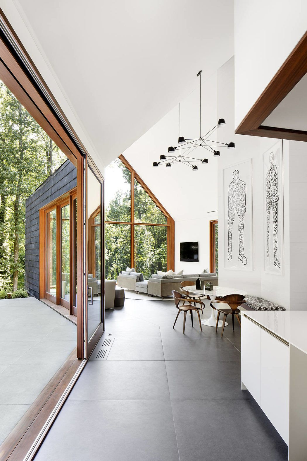 Slate House By Ziger Snead Architects With Images Modern House