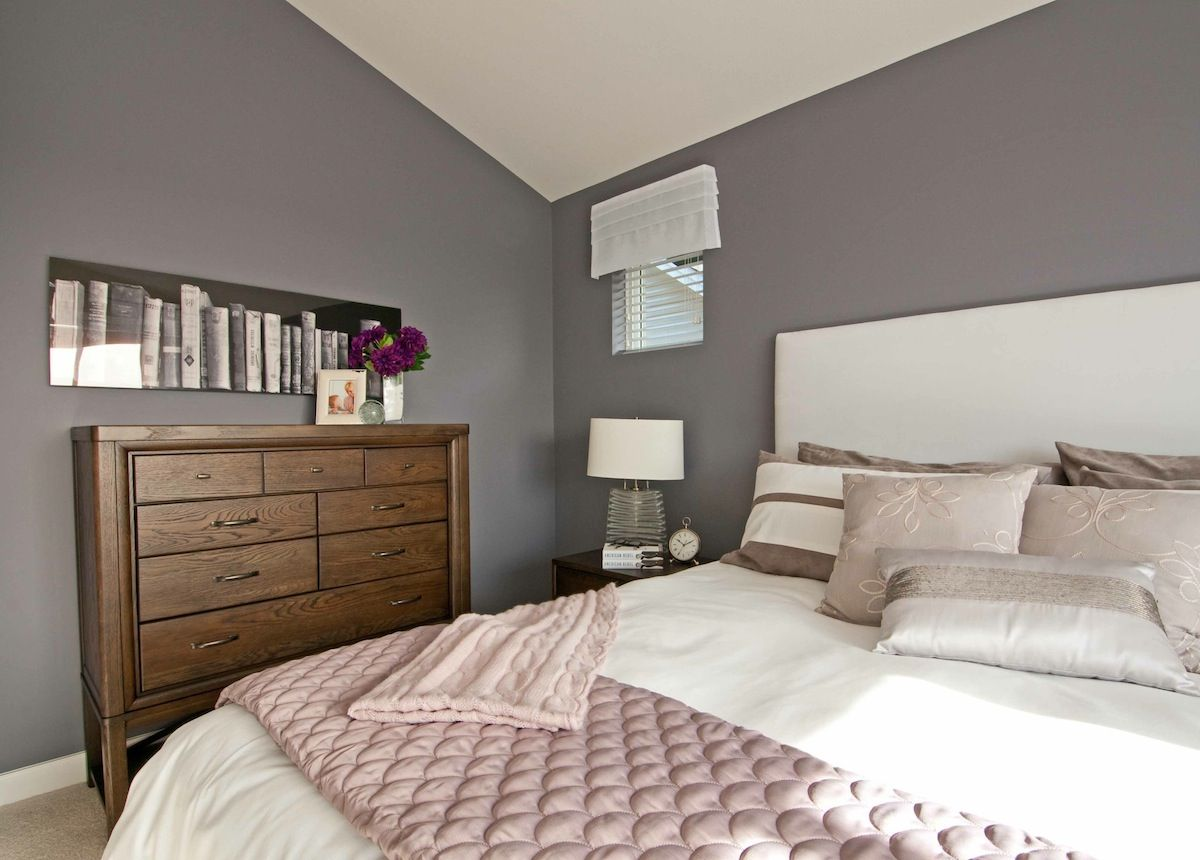 Purple The Hot Interior Paint Colour for 2012 Bedroom