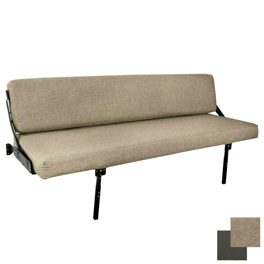 60 Rv Wall Mount Fold Up Drop Down Sofa Gaucho Bed With Adjustable Legs Cloth Ebay In 2021 Rv Sofa Bed Adjustable Legs Rv Furniture Wall mount fold out sofa sleeper