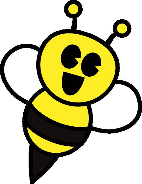 Bumble Bee Cartoon Bee Happy Cartoon Bee Clipart