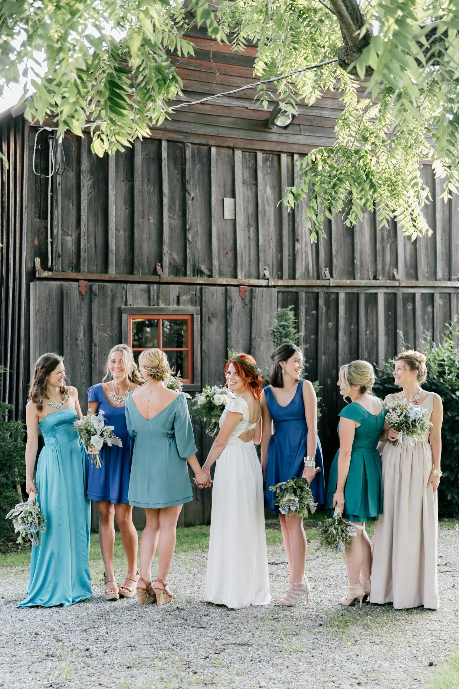 Reversible bridesmaid dresses we say yes bridesmaids bridesmaid reversible bridesmaid dresses ombrellifo Images