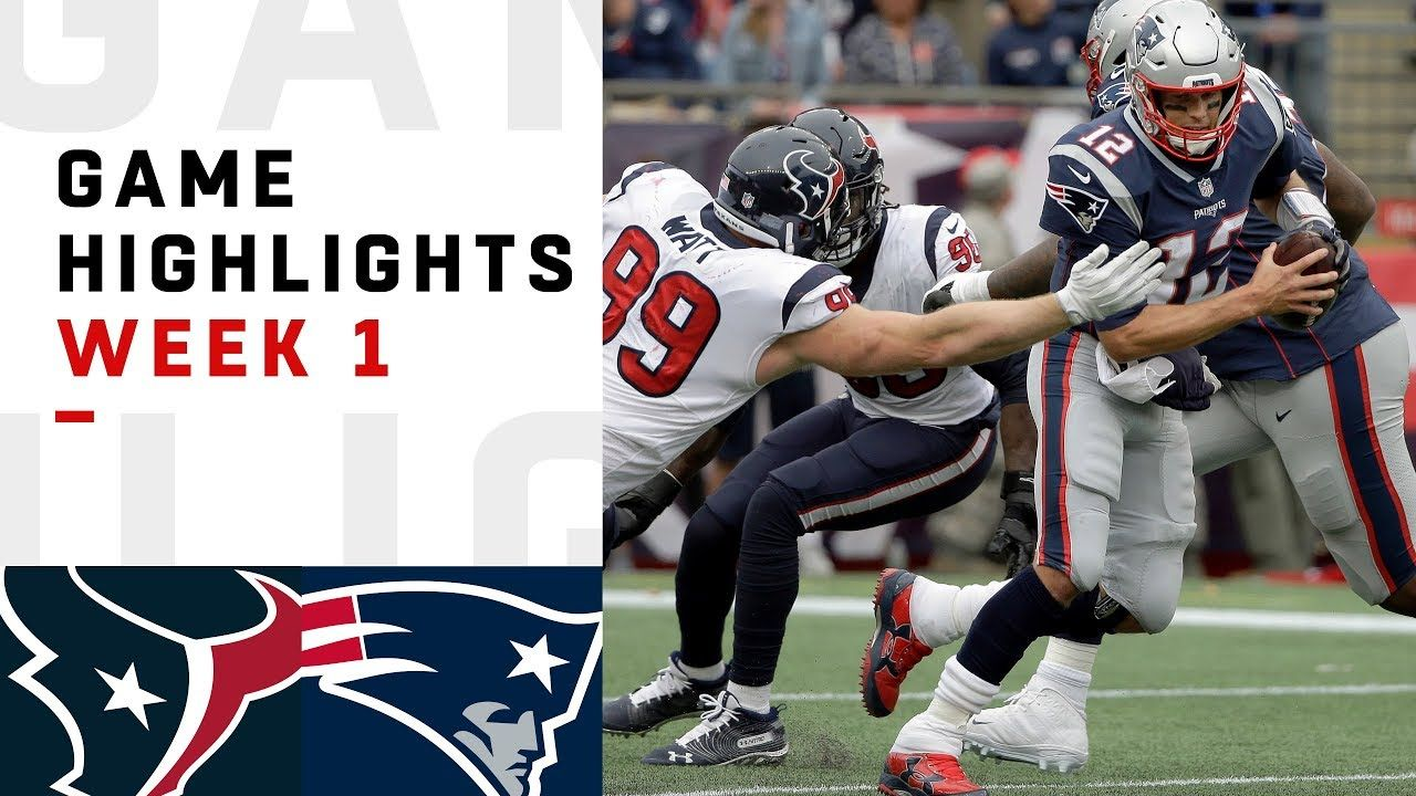 Texans vs. Patriots Week 1 Highlights NFL 2018 (With