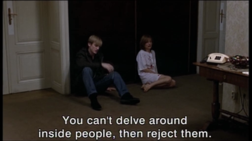 "La Pianiste"" / ""The Piano Teacher"" (2001). 