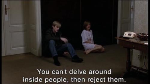 "La Pianiste"" / ""The Piano Teacher"" (2001). | Film quotes, Movie ..."