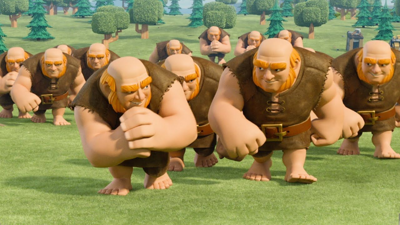 Mobile game commercial - Clash Of Clans Traps Official Tv Commercial