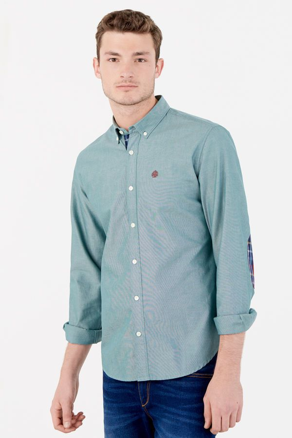 CamisasHombres Maru Camisa VerdeOutfit Y Pinpoint Springfield CxhQsdtr