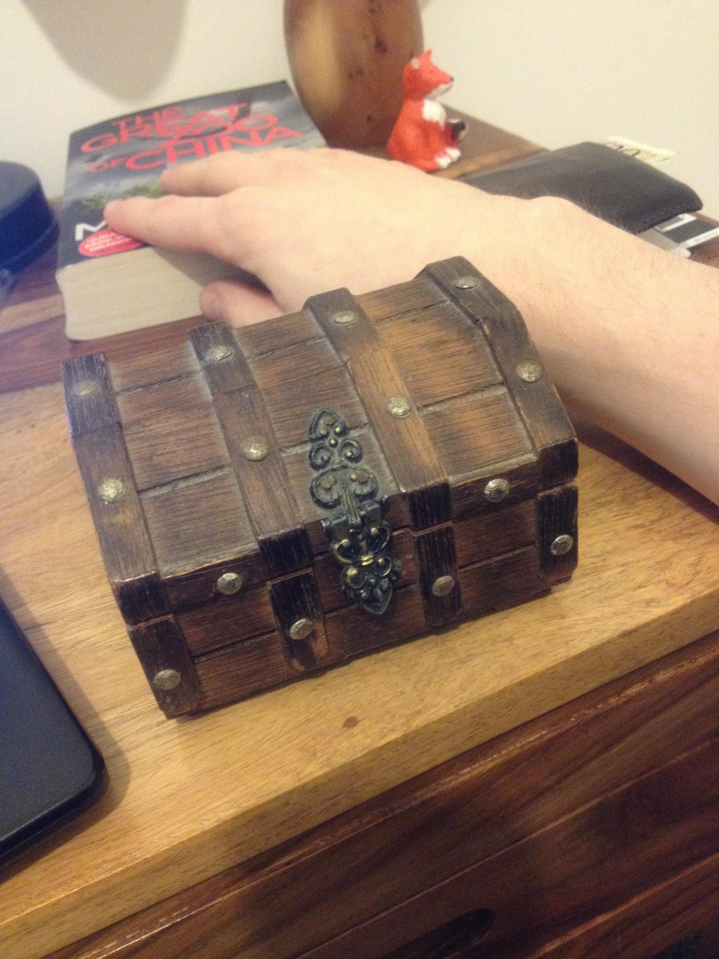 Skyrim Alchemy Chest my sister's gift to me. Sister