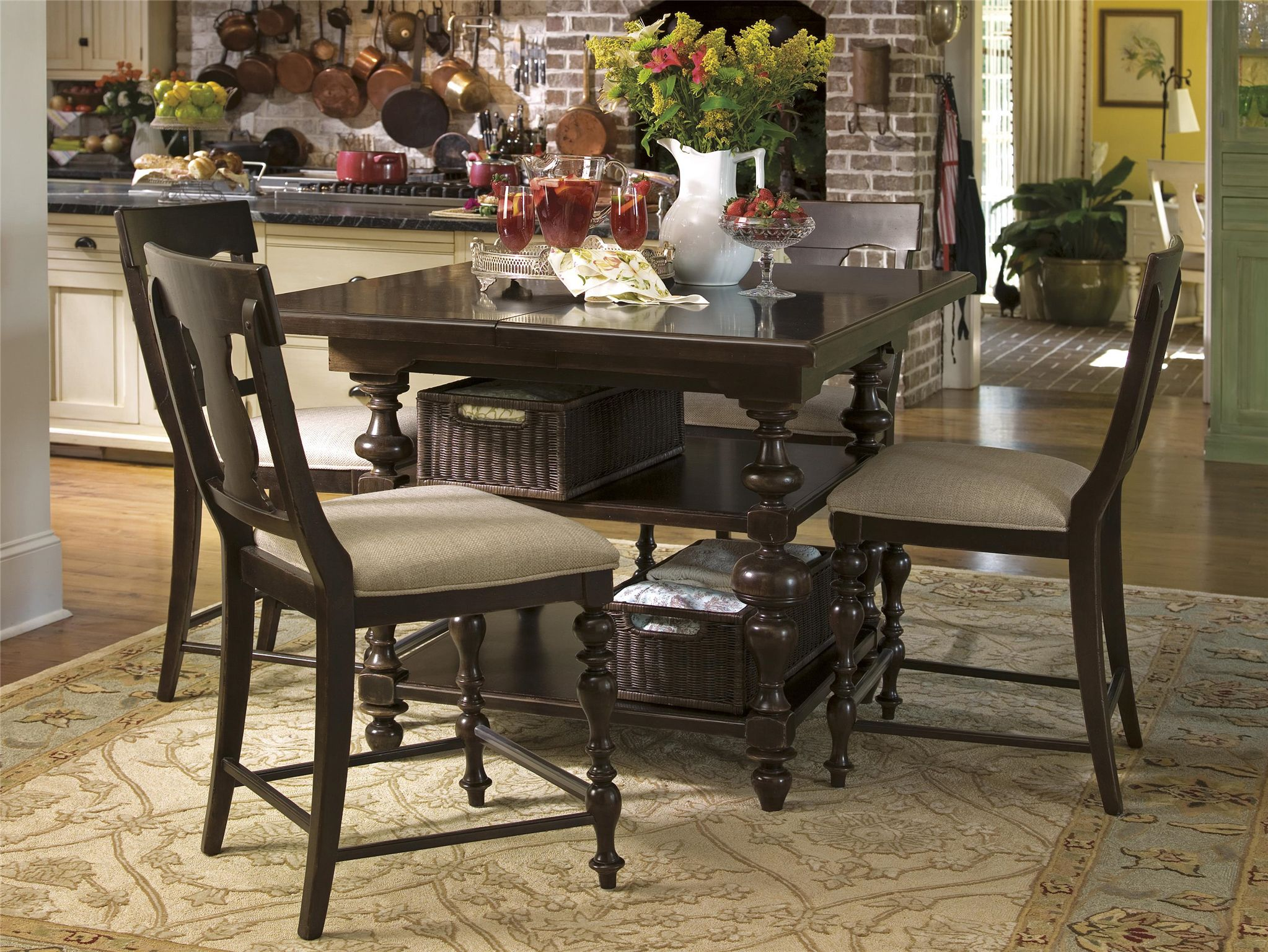 Universal Furniture | Paula Deen Home Kitchen Gathering Table & Universal Furniture | Paula Deen Home Kitchen Gathering Table ...