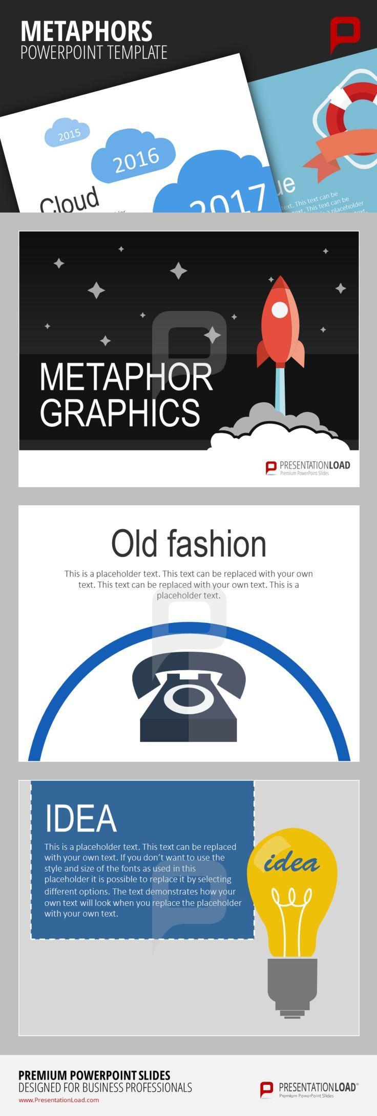 Verwenden Sie Metapher-Vorlagen um Ihre Ideen Ihren Zuschauern ...