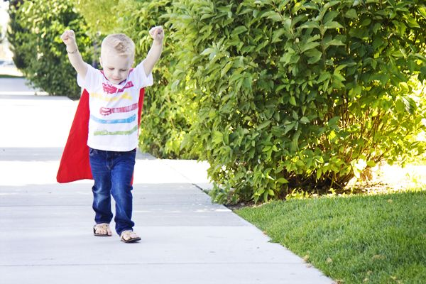 how to make a cape for a child