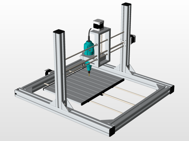 CNC drill - KeyCreator,STEP / IGES,SOLIDWORKS,AutoCAD - 3D CAD model on solidworks cad, vectorworks cad, nx cad,