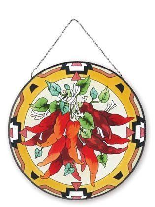 Chili Peppers Sun Catcher By Joan Baker Designs 37 95