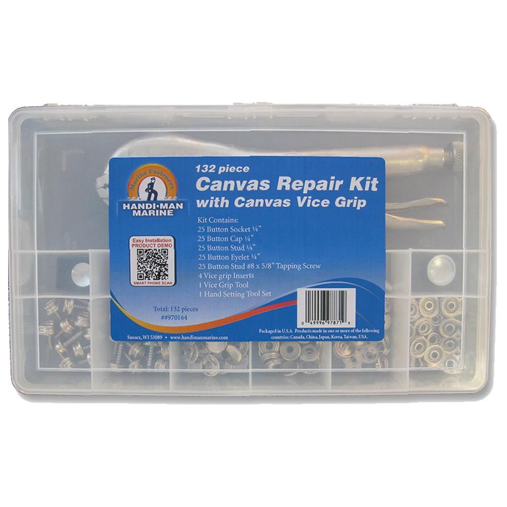 Handi-Man Canvas Repair Kit W-Vice Grip [970164]