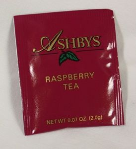 Raspberry Tea Bags - Ashbys - 20 Count Mmmm, this is my favorite tea. I buy it in 2 lb bags, loose leaf.