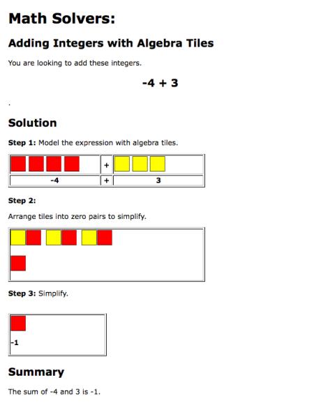 algebra tiles math 6 8 algebra lessons algebra math. Black Bedroom Furniture Sets. Home Design Ideas